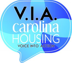 Talking bubble with VIA Carolina Housing - Voice Into Action
