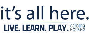 It's all here. Live. Learn. Play. Carolina Housing